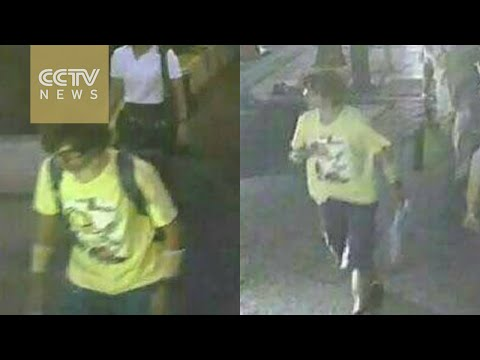 Thai police hunt for blast suspect caught on security camera