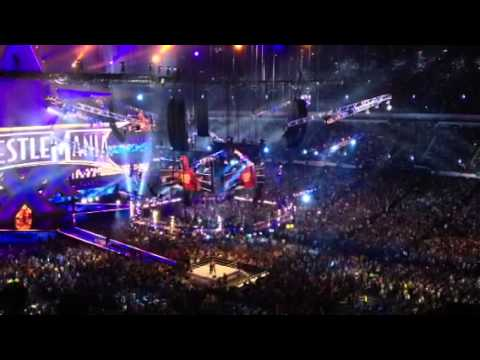 Wrestlemania 30 stone cold surprise entrance