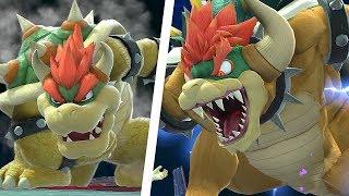 Super Smash Bros Ultimate - Giga Bowser Final Boss 9.9 Intensity Classic Mode Captain Falcon