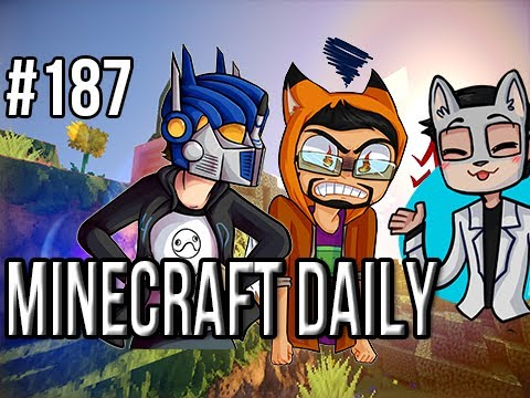 Minecraft Daily | Ep.187 | Ft. ImmortalHd and Steven | Omg Land Whale Attacks! RUN!!