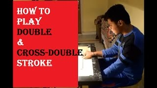 How To Play Double Stroke and Cross Double Stroke in Carrom