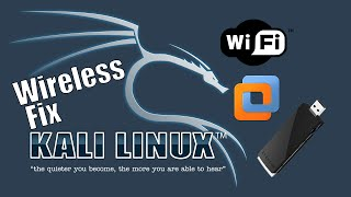 Kali Linux WIreless/Wifi Adapter (Not Detecting) FIX!!!