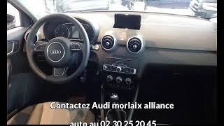 Audi a1 occasion visible à Saint-martin-des-champs présentée par Audi morlaix alliance auto