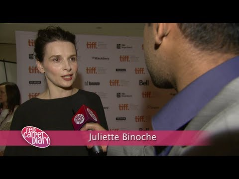 'Elles' - Juliette Binoche at the Toronto Film Festival 2011