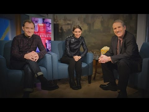 Jude Law, Rooney Mara Interview: 'Side Effect' Stars Talk to Peter Travers