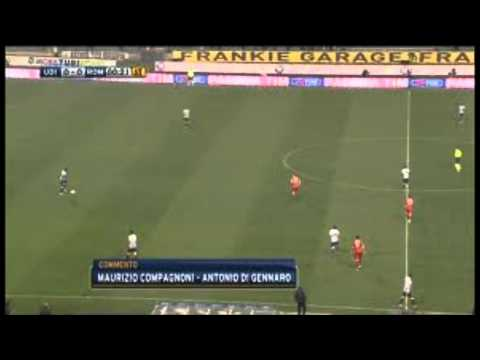 Udinese 2 - 0 AS Roma 25/11/2011 All Goals And Highlights