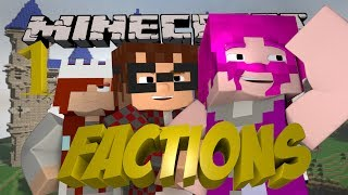 Minecraft FACTIONS Episode 1 with MunchingBrotato and Lilshortysgs