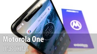Motorola One Unboxing (Moto P30 Play/ Android One Phone)