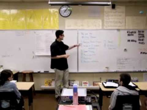 Common Core Writing Lesson, Tim Bedley