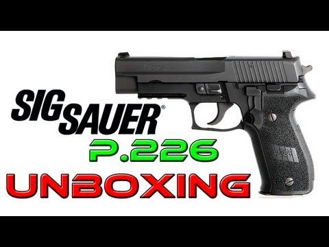 UNBOXING SIG SAUER P226 Cybergun (PT)   ARMA AIRSOFT