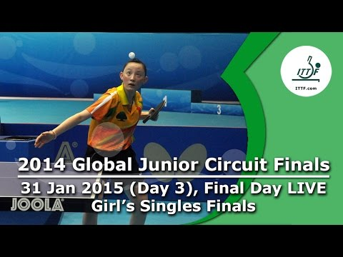 2014 ITTF Junior Circuit Finals - Day 3 LIVE, Junior Girls Final
