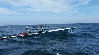 Sark to Jersey Rowing Race June 2015