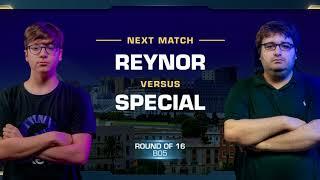 Reynor vs SpeCial ZvT - Round of 16 - WCS Valencia 2018 - StarCraft II