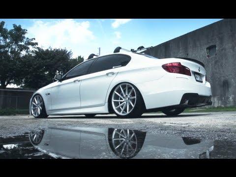 Bmw F10 Vossen Cvt Directional Wheels Rims Youtube