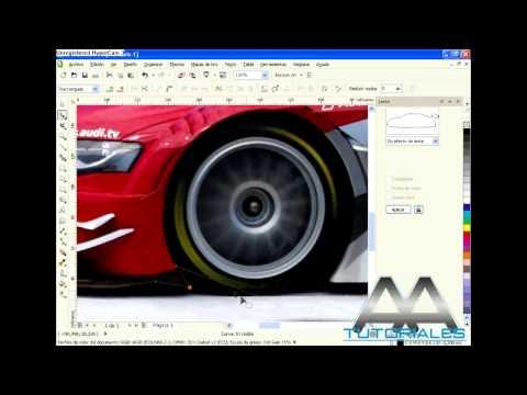 COREL DRAW X5 - como recortar una imagen! (HD)