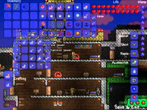 Terraria how to duplicate items without cheats pc action adventure