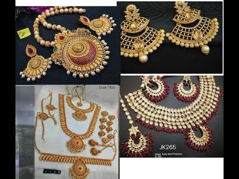 Watching video Bridal and Imitation jewellery at Sowcarpet for Rent and also for Sale with Price at Reasonable Rate