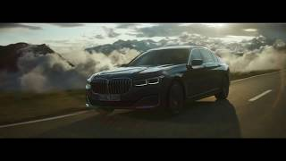 BMW 7 Series Above the clouds