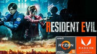 Resident Evil 2 (short demo)Ryzen 5 2500u Vega 8 Gameplay Benchmark test