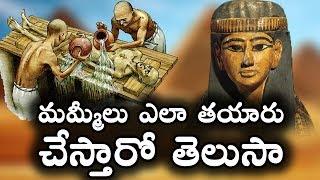 మమ్మీలు ఎలా తయారు చేస్తారో తెలుసా    Shocking Facts about Mummies    T Talks