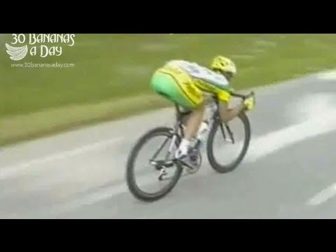 100kph at the Tour De France. Risking life to save mere seconds.