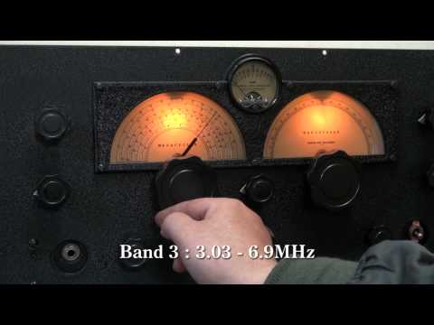 RME-69 Vintage Ham Radio Receiver All band receiving