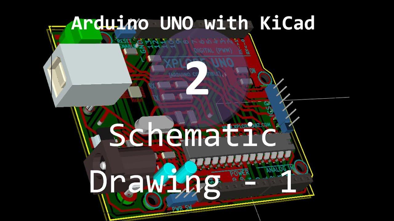 Arduinouno kicad schematic microcontroller breakout