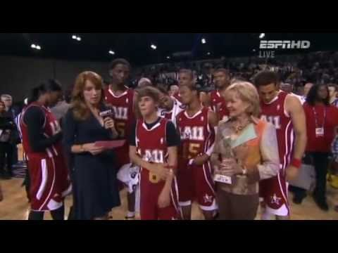 Justin Bieber NBA All Star Celebrity Game 2011 Highlights Part 02-02