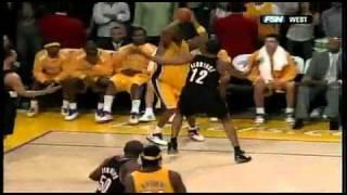 Kobe Bryant's best shot of his career! (Best basketball shot ever!)