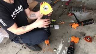 How to: Install WRX Coilovers on Saturn S-Series