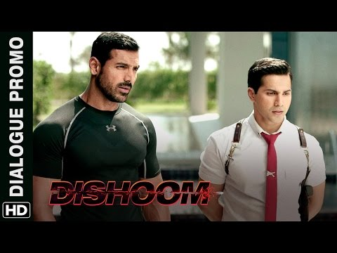 Varun Dhawan Can't Get His Eyes Off Nargis Fakhri | Dishoom | Dialogue Promo