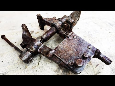 Old Blacksmith's Vise Restoration