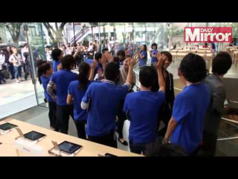 iPhone6 is launched in Japan