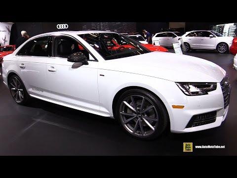 2017 Audi A4 technik S-Line - Exterior and Interior Walkaround - 2017 Montreal Auto Show