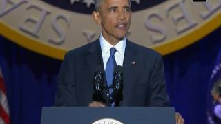 """""""Believe! Not in my ability to bring about change, but in yours"""": #President #Obama as he bids adieu"""