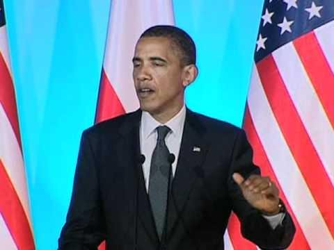 Obama: Poland A Model For New Democracies