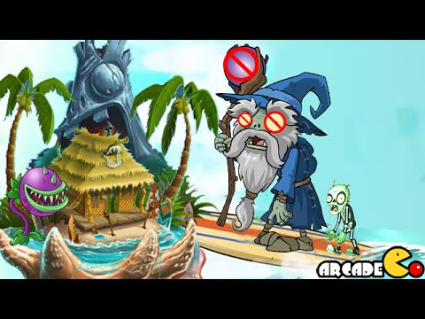 Plants Vs Zombies 2: Big Wave Beach Ghost Pepper The Wizard Zombies Killer