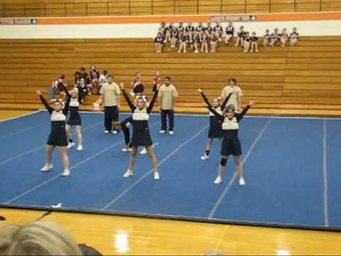 New Prairie High School 2007 co-ed cheer team