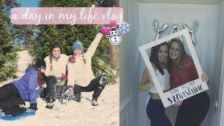 A Day In My Life!! Snow Day & Schools Cancelled for Over a Week!! Vlog