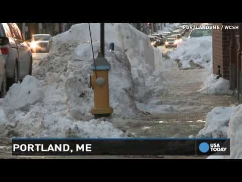 Snow blankets Midwest as 'round 2' storm hit Northeast