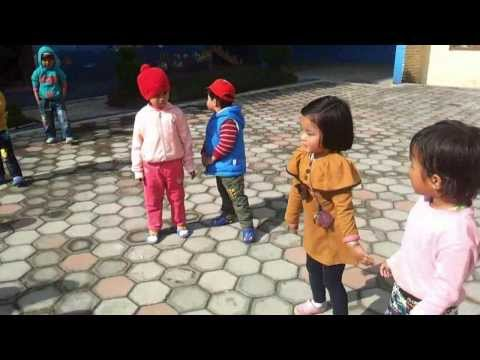 Kids Dancing In Nepali Songs(toddlers Intl Pre School) video