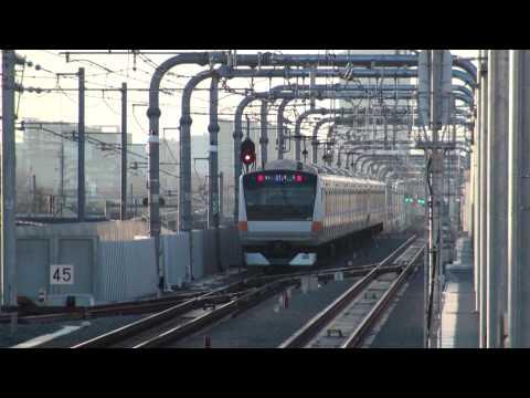 E233系中央�中央�快�尾��武������武���������������������影�2009/12/29�影� JR����train in japan�中央�E233系�中央�����E233系�中央��中央�快�