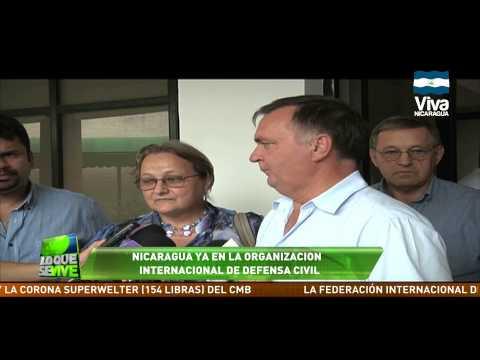 Nicaragua activa en Organización Internacional de Defensa Civil