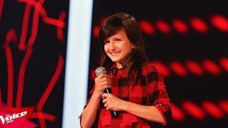 Danjela - Me ty   Audicionet e Fshehura   The Voice Kids Albania 2018
