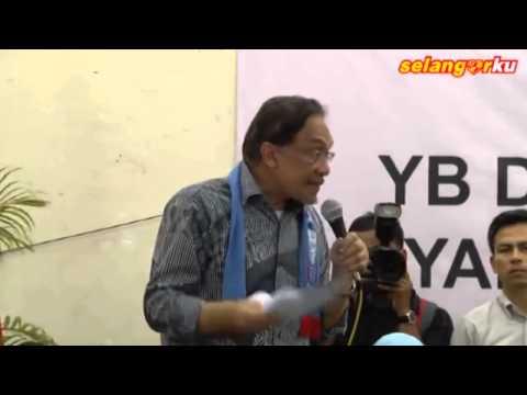 Anwar Ibrahim: Kenapa Saya Bertanding Di Dun Kajang?