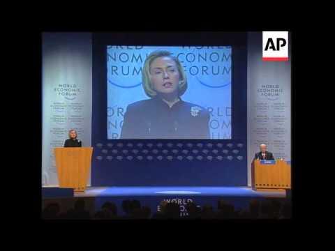 Switzerland - US delegates at Economic Forum