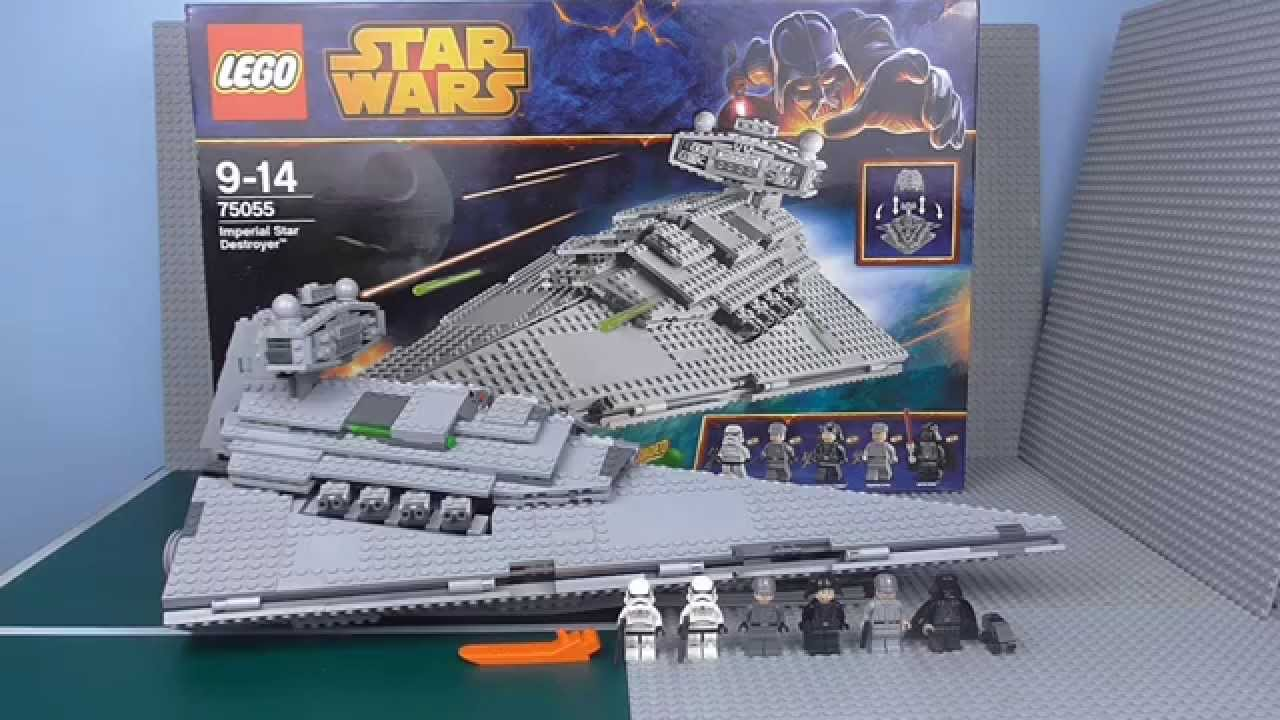 Lego star wars imperial star destroyer review 75055 youtube - Croiseur interstellaire star wars lego ...