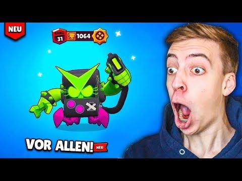 ICH SPIELE ALLE NEUEN SKINS VOR ALLEN ANDEREN!! 😈😨 VIRUS 8-BIT GAMEPLAY! ★ Brawl Stars deutsch