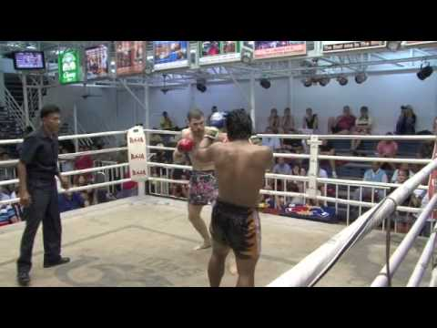 2x UFC fighter Chad Reiner Fights Muay Thai in Thailand