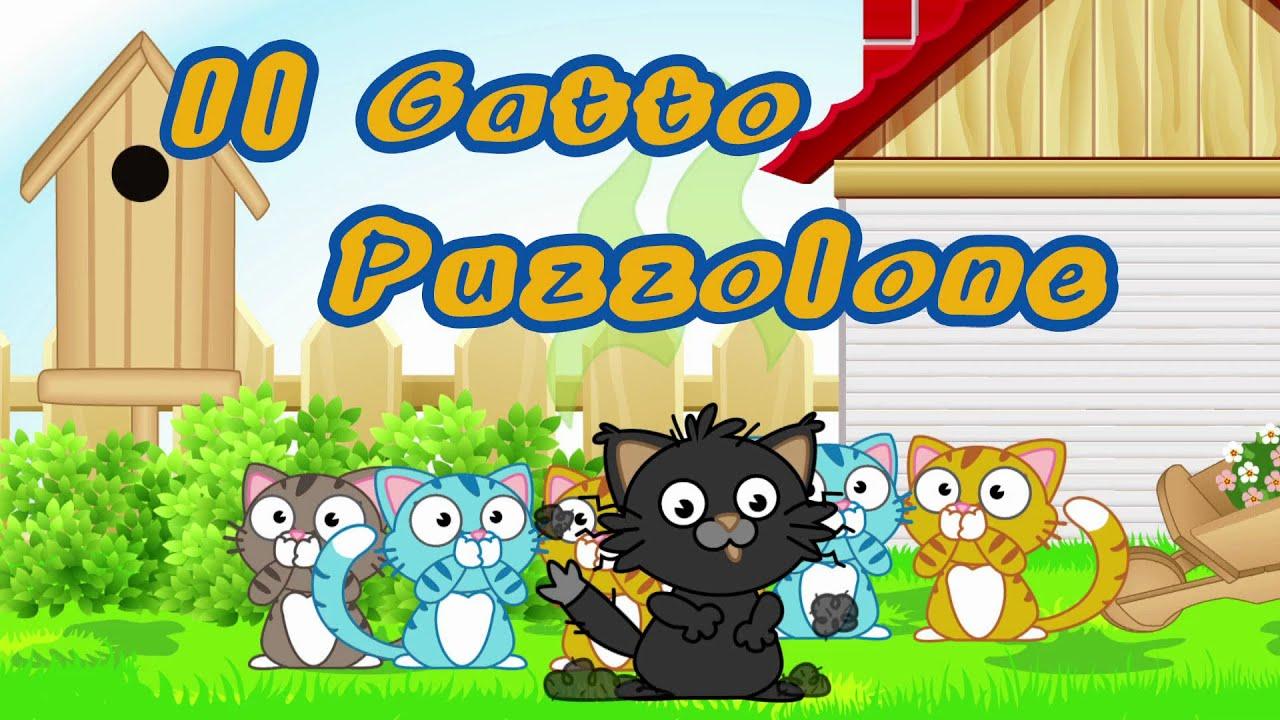 Il gatto puzzolone canzoni per bambini e bimbi piccoli for Canzoncini per bambini piccoli